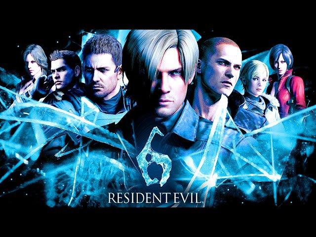 Resident Evil 6 (Русская озвучка) Все видео сцены [1080p]