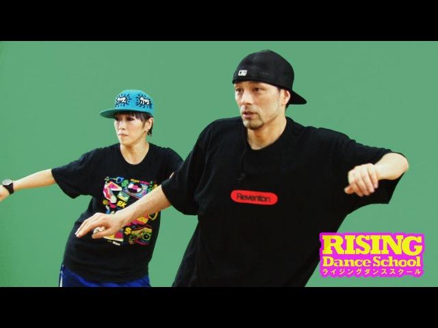 【HIPHOP】ケントステップ RISING Dance School ライジングダンス STEZO | TDC
