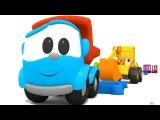 Sportarten auf Deutsch lernen Max der Bagger und das Karussell Cartoons mit Spielzeugautos
