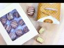 Шоколадные конфеты с Марципаном Chocolate Bonbons with Marzipan