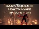 Dark Souls 3 ► How to invade the boss fight