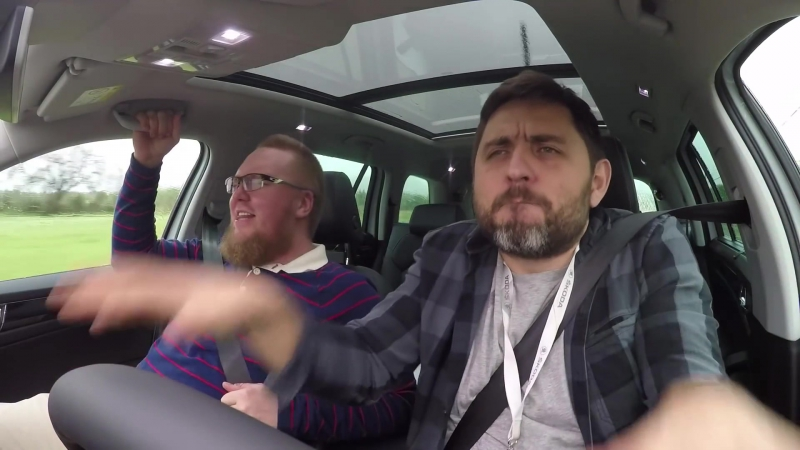 ТЕСТ SKODA KODIAQ 2017 Поёт Сергей Стилавин