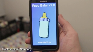 Baby bottle robot - test #6