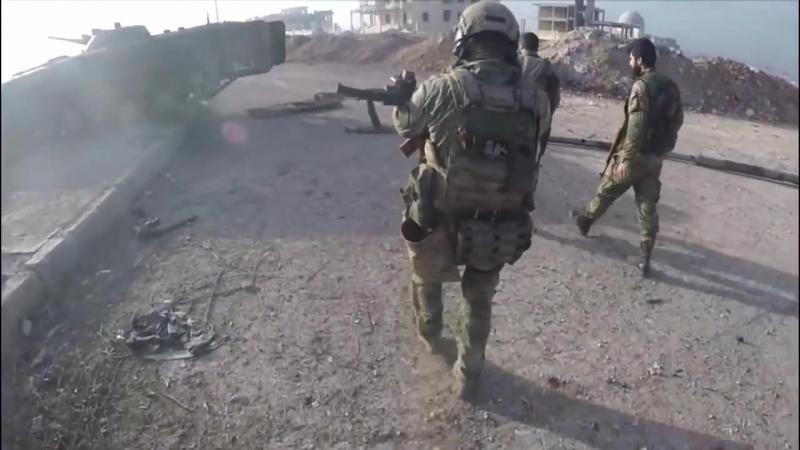 18. Русский спецназ ведет охоту на боевиков в Сирии — уникальные кадры Ч. 2 Warni