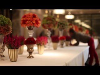 Elaborate Table Installation at the Connaught Hotel