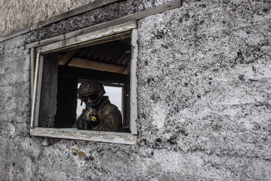 Учения сил специальных операций Казахстана