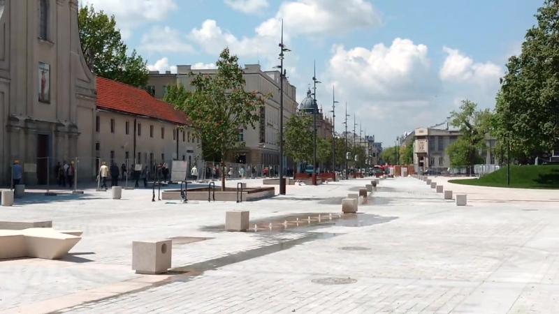 Miasto Lublin - Nowa fontanna