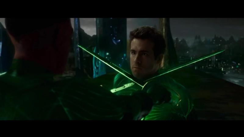 Зеленый Фонарь против Синестро Зеленый Фонарь 2011 720p