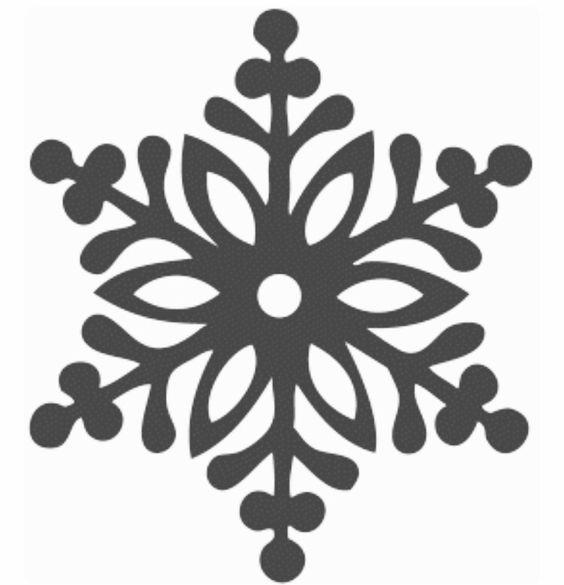 трафареты для снежинок из клея ПВА
