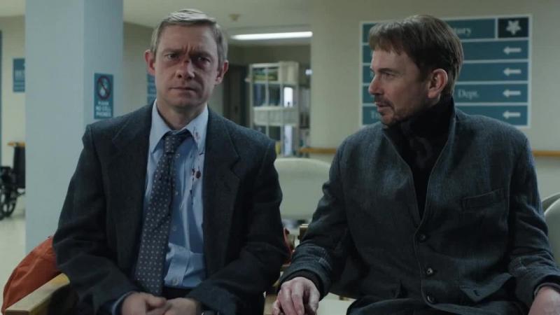 Диалог в больнице Лестер и Малво Сериал Фарго отрывок нарезка