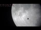 Снят НЛО во время суперлуния ...