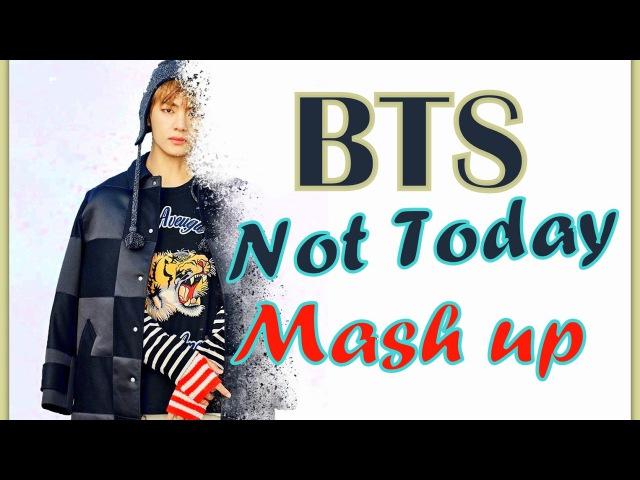 BTS (방탄소년단)~ Not Today MV Teaser X Sugas BeatMix MASHUP