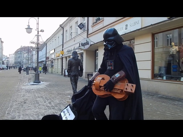 Lord Vader Imperial March Hurdy Gurdy