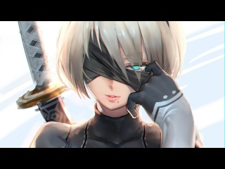 Вышел Nier: Automata!! от Platinum Games мммммммм