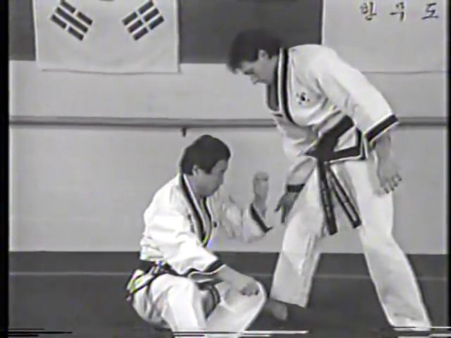 Korean Martial Arts Old Video Hanmudo Dr He Young Kimm, Hapkido, Taekwondo 2
