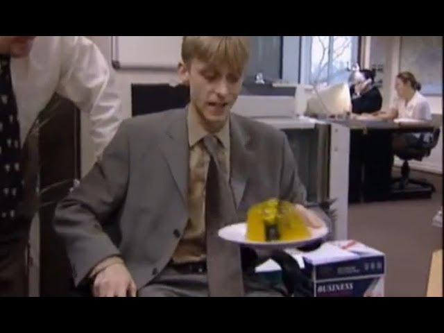 Gareth's Stapler - The Office - BBC
