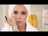 Victoria Beckhams Five-Minute Face Beauty Secrets Vogue