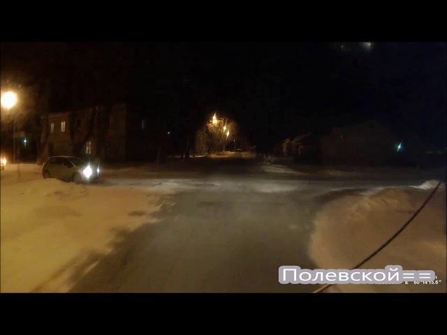 ДТП Полевской. Я не местная я из Свердловска. Woman driving.