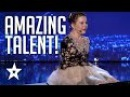 Girl With No Arms Sings Plays Piano With Her Feet   Romania's Got Talent   Got Talent Global
