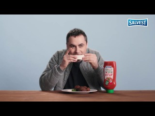 Magnum Pi в рекламе кетчупа