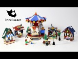 Lego Creator 10235 Winter Village Market - Lego Speed Build