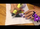 Gravity Falls DIY Tutorial 3D PEN 3Dペン Рисуем Билла Шифр из Гравити Фолс