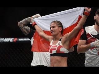 Karolina Kowalkiewicz UFC 205 (Highlights)