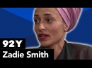 Conversation and reading with Zadie Smith