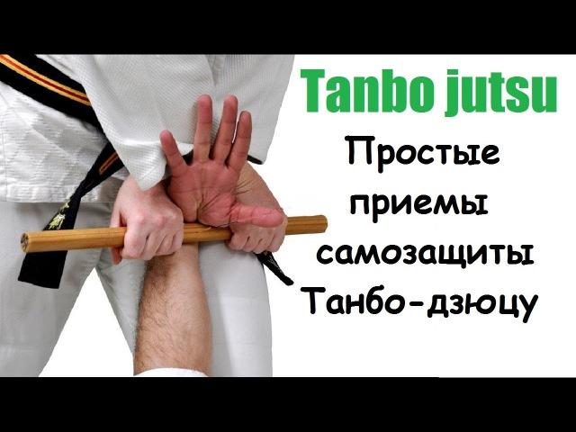 Простые приемы самозащиты Танбо дзюцу Бой короткой палочкой