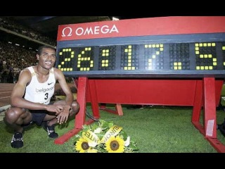 Kenenisa Bekele 10000m World Record - 26:17.53 Brussels 2005