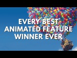 Every Best Animated Feature Winner. Ever. (2001-2016 Oscars)
