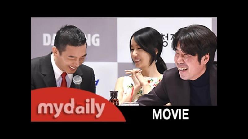 유아인 Yoo Ah in 작년 오달수 Oh dal soo 선배님의 악수 깜빡해…죄송 MD동영상