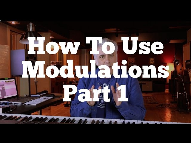 Music Theory Lecture How To Use Modulations Part 1