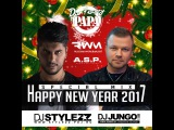 DJ STYLEZZ &amp DJ JUNGO  Happy New Year 2017, Papa!