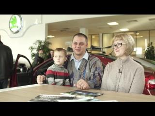 Интервью 1. Александр Бастраков и его KODA OCTAVIA