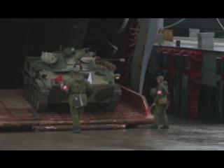 «Цезарь Куников» отработал погрузку и высадку десанта: видео