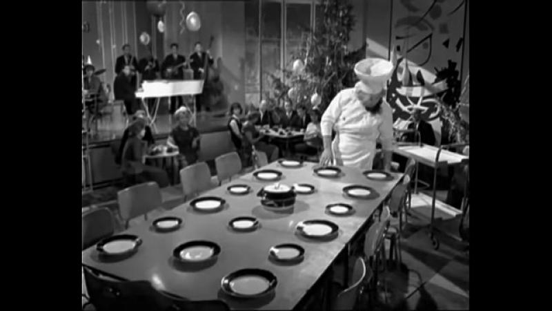 ♐Олег Попов с интермедией Офицант (1964)♐