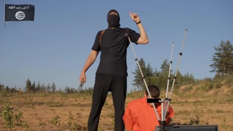 ИГИЛ неудачная казнь заложника