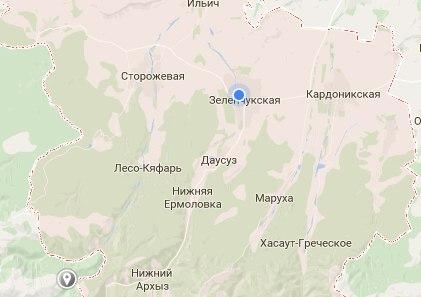 В Зеленчукском районе зафиксировано одно из самых теплых мест в России