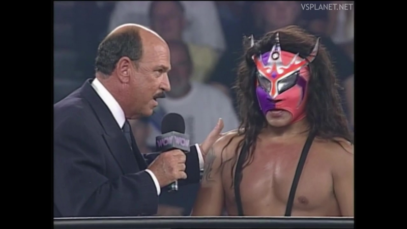 Juventud Guerrera interview, WCW Monday Nitro 26.08.1996