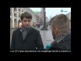 Хор Русской Армии поймали на Невском во время репетиции