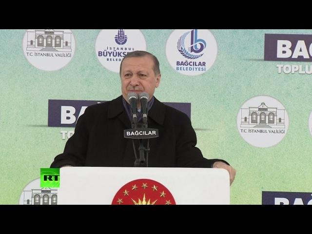 Эрдоган назвал власти Нидерландов нацистскими последышами и фашистами