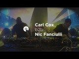 Carl Cox b2b Nic Fanciulli @ Space Ibiza