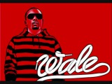 Wale - Ridin in that black joint.