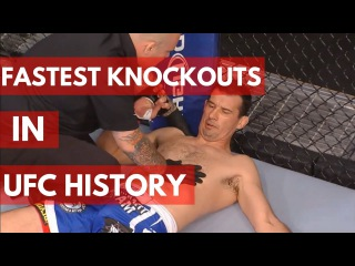 Fastest Knockouts in UFC History - TOP 10