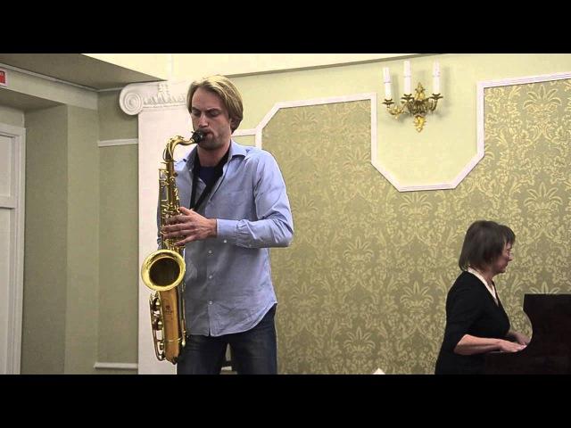 Дмитрий Пуговкин саксофон Reinhold Glière-Romance