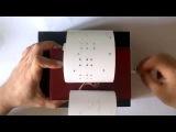 La Valse D'Amelie 30 note strip-type music box