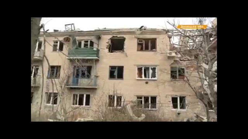 поселок Пески 17 апреля 2017 видео от хохлотв