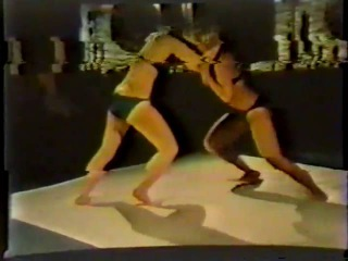 Ali Day vs Patti Austin Ealer Dayton Female Wrestling  VK