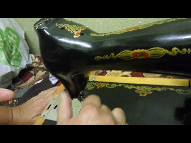 Настройка старой швейной машинки Подольск